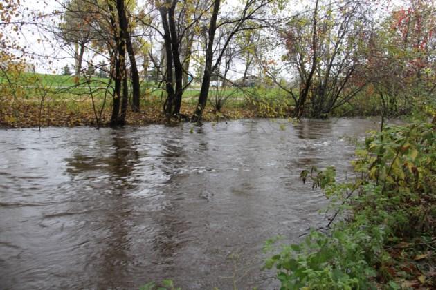 flooding chippewa creek 1 turl 2015