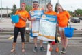 College students take to the streets in North Bay for Cystic Fibrosis