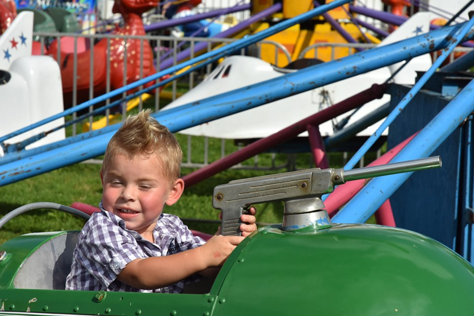 There will be a Magical Midway at the Beeton Fair this year. Miriam King/Bradford Today