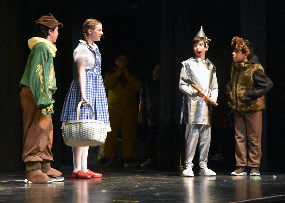 Bradford students delight in Wizard of Oz production (9 photos