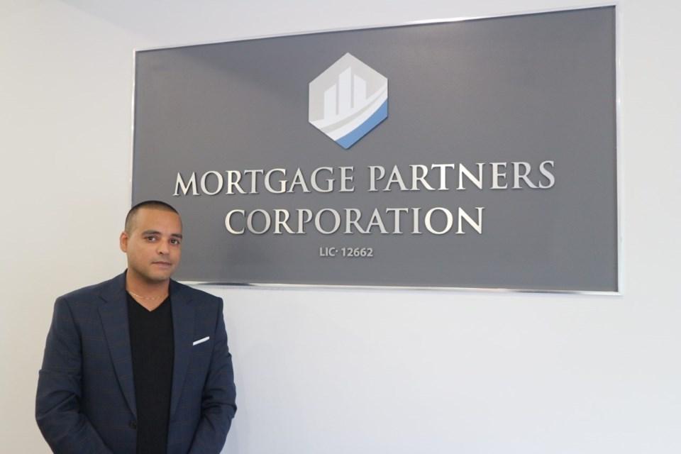 Kash Toor, founder of Mortgage Partners Corporation. Natasha Philpott for BradfordToday