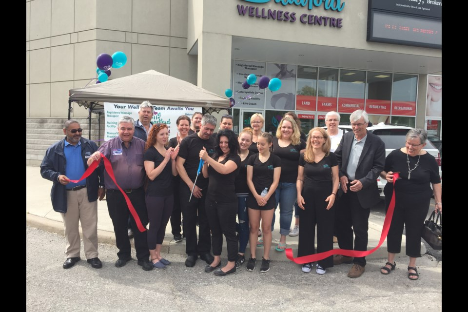 The Bradford Wellness Centre had its grand opening June 10. Submitted photo