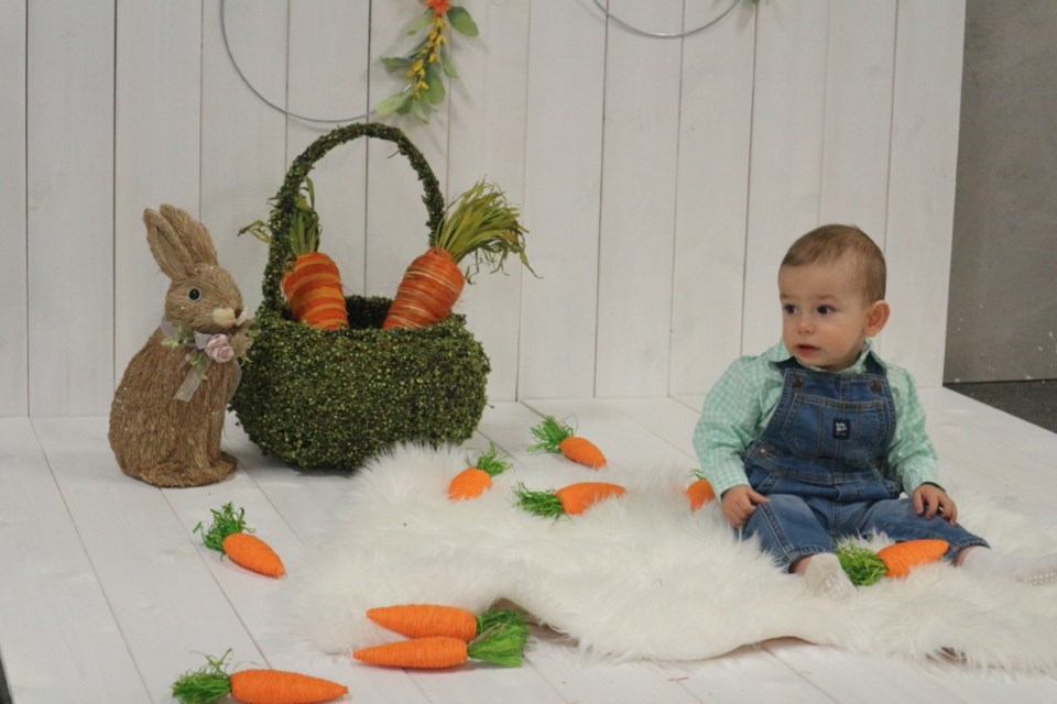 Photographer Captured By Cynthia was there to snap Easter photos of all the kids. Natasha Philpott for BradfordToday