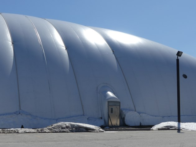 Sports Dome snow