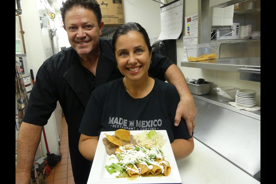 Fernando and Janet Bravo own Made in Mexico, which has locations in Bradford, Newmarket and Barrie. Jenni Dunning/BradfordToday
