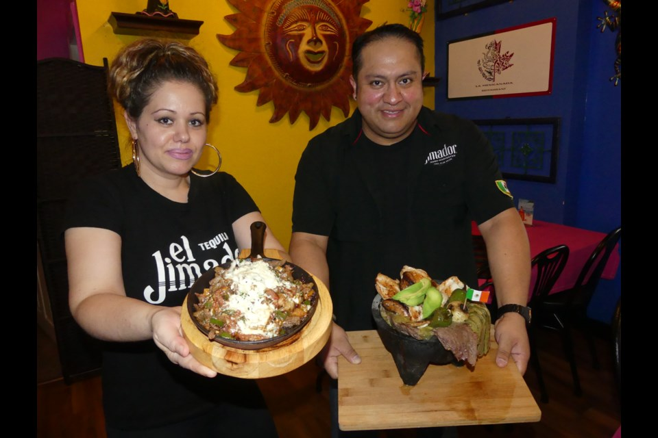 Debra and Edson Nava took over ownership of La Mexicanada in downtown Bradford West Gwillimbury almost a year ago. Jenni Dunning/BradfordToday