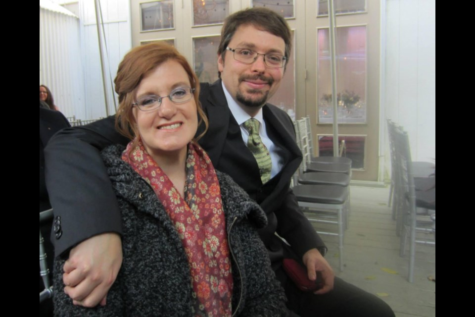 On Oct. 27,2019, Cheryl Carre ofBradford, here with husband Kevin, was struck and killed while crossing in the area of Holland Street West and West Park Avenue. Submitted photo