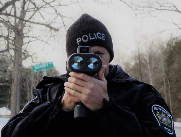 2019-03-15-south simcoe police radar gun