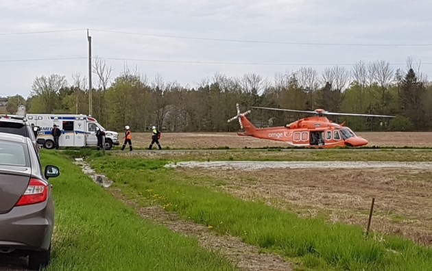 2019-05-22 9th Line Innisfil Collision