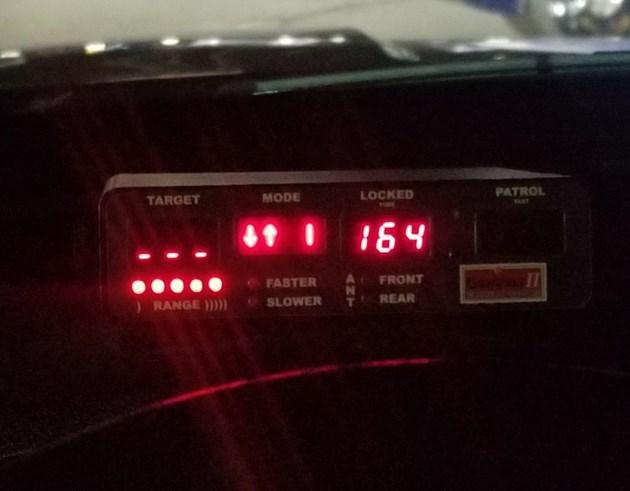 Speeding Bradford