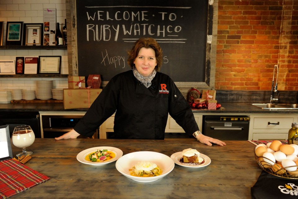 Celebrity chef Lynn Crawford is coming to Deerhurst Resort March 1-3. Submitted photo