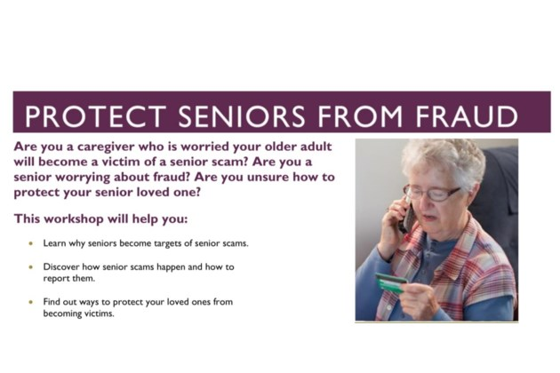 Protect Seniors From Fraud header