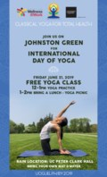 Yoga on Johnston Green Poster (1)
