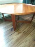 Teak Coffee Table 104.1 cm Diameter