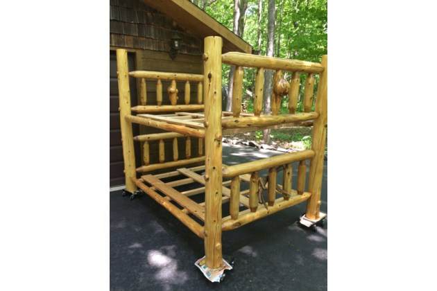 Log Bunk Bed Sootoday Com