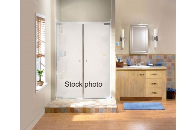 Shower doors - stock photo