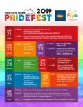 Pridefest Schedule 2019