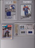 4 Card Special, Lindbergh (RC), Grabner (RC), Nugent-Hopkins (RC), Luongo (#1-#19) BV $175.00 - SB $75.00 - Copy