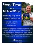Story Time with Michael Wray