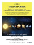 Stellar Science Poster
