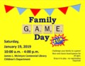Family Game Day January