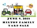Hilton Family Yard Sale  2018poster
