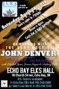 John Denver  Echo Bay elks - Made with PosterMyWall (1)