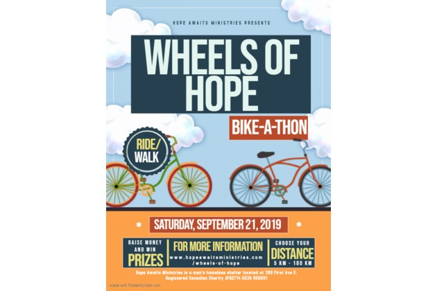 Wheels of Hope Poster 2019