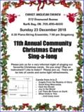 2018 Christmas Singalong