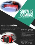Copy of SNOW REMOVAL