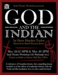 God and the Indian poster
