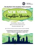 NAAcademy Feb 28 2018 Concert Poster