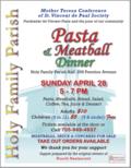 MTC Pasta Dinner April 28,19