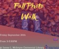 Fall Photo Walk