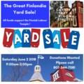 Finlandia Yard Sale