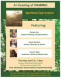 Spiritual Expression - poster