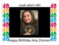 Amy birthday poster