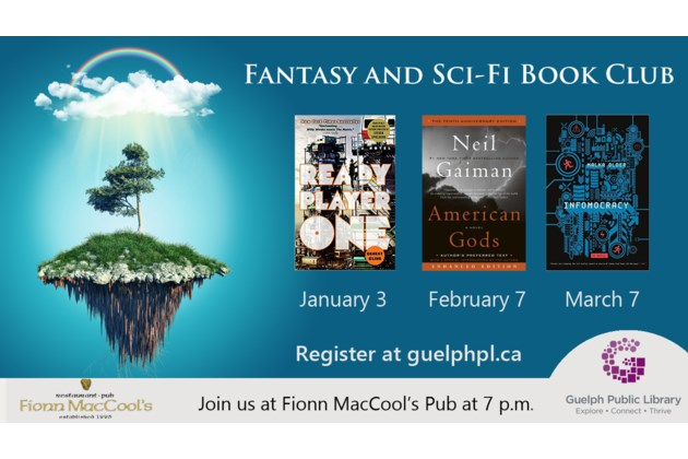 Fantasy and Sci-Fi Jan-March