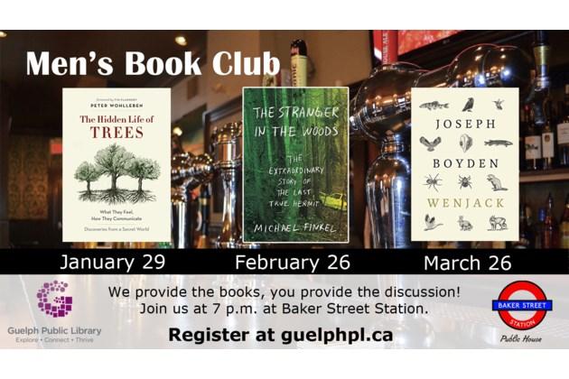 mens bookclub Jan-March