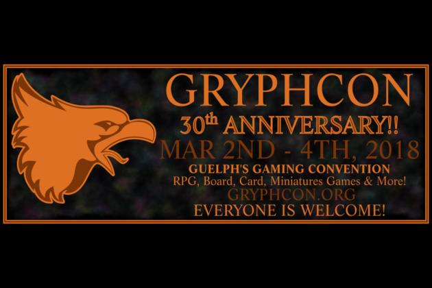 Gryphcon 2018 Facebook Banner