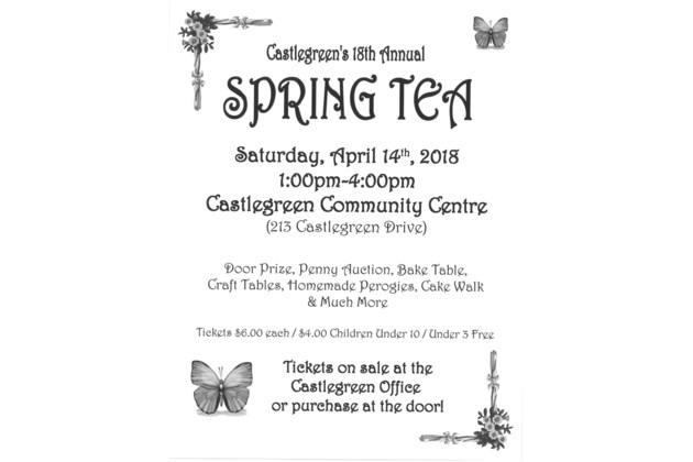 Spring Tea Poster