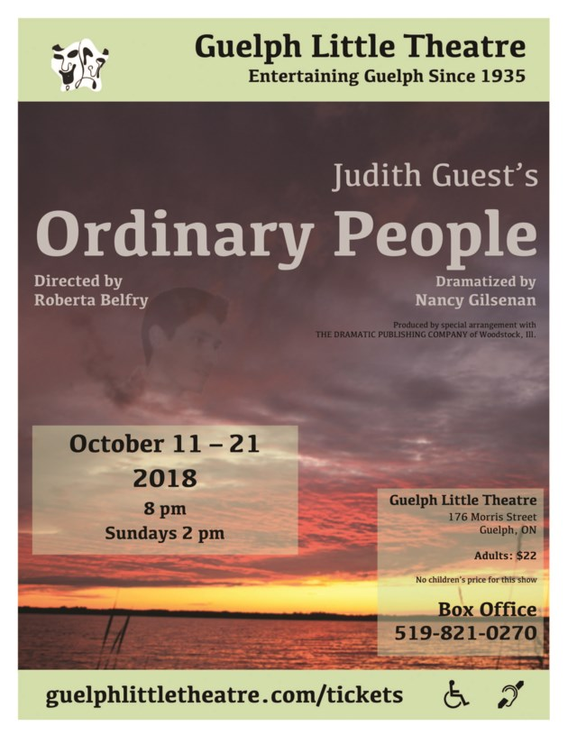 the irony in the title ordinary people by judith guest Ordinary people represented a coming-out party for three individuals for redford, who was no stranger to appearing in front of the camera, this was the start of his directorial career for redford, who was no stranger to appearing in front of the camera, this was the start of his directorial career.