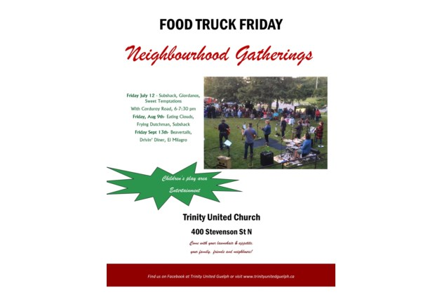 food truck flyer 2019