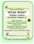 _2019 POSTER Irish Night