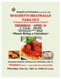__2019 Thursday Spaghetti take out copy