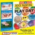 Rock Painting Play Day