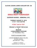 Bingo Fundraiser Poster-1