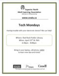 Tech Mondays April