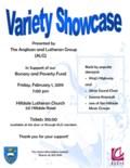 Variety Showcase Poster 2019