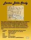2019 Lenten Bible Study